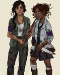 Reyna and Hazel