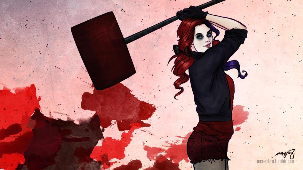 Harley Quinn by incredibru