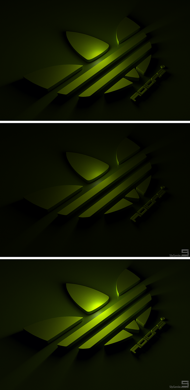 Adidas Logo Scene by APgraph