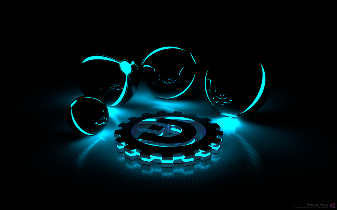 Orb v1 by apgraph on deviantart for Fondos de computadora en 3d