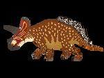 Triceratops by munkas02