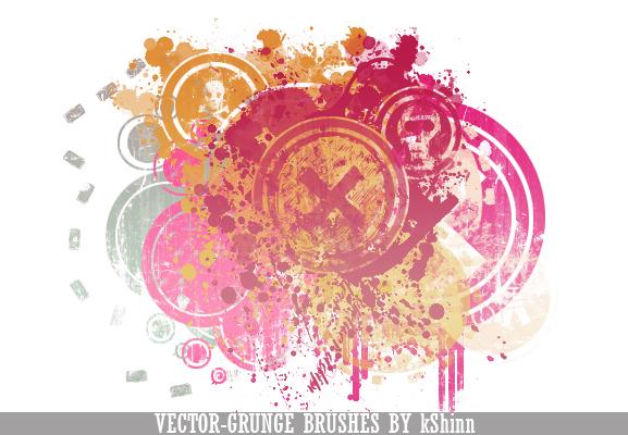 Vector-Grunge Brush Pack by kShinn