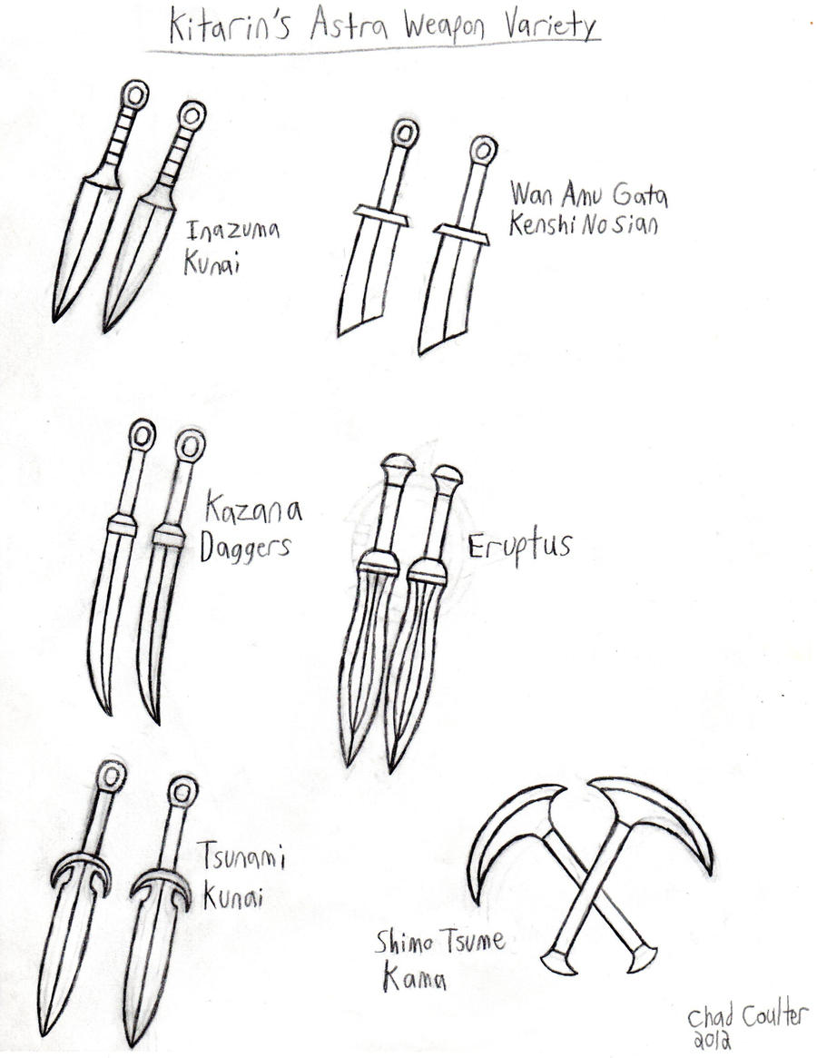 Kitarin's Supposable RPG Weapons by BaroqueWolfe on DeviantArt