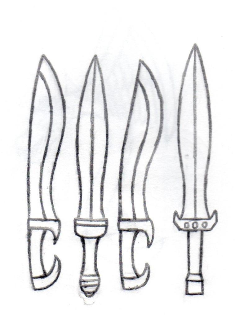 Greek to Roman Swords by BaroqueWolfe on DeviantArt
