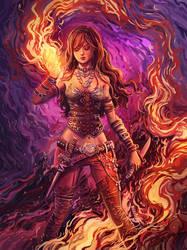 Fiery by c-a-s