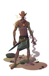 Elf Dude by c-a-s