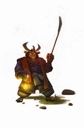 Samurai by c-a-s