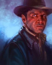 Indiana Jones by c-a-s