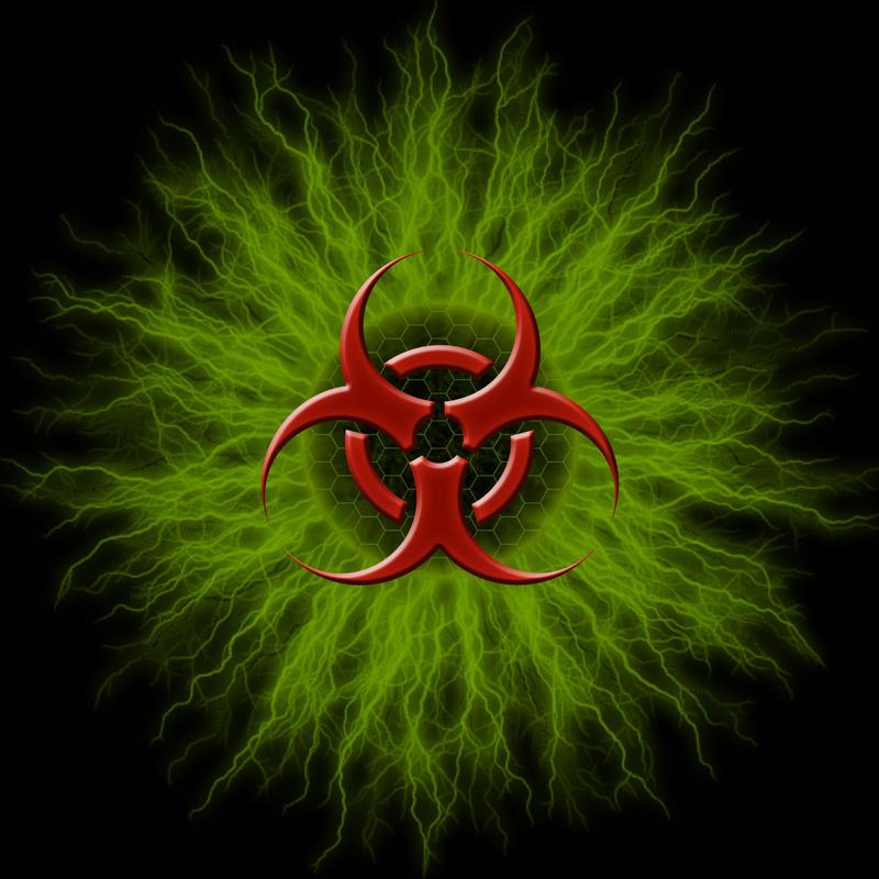 Biohazard sign by yalik