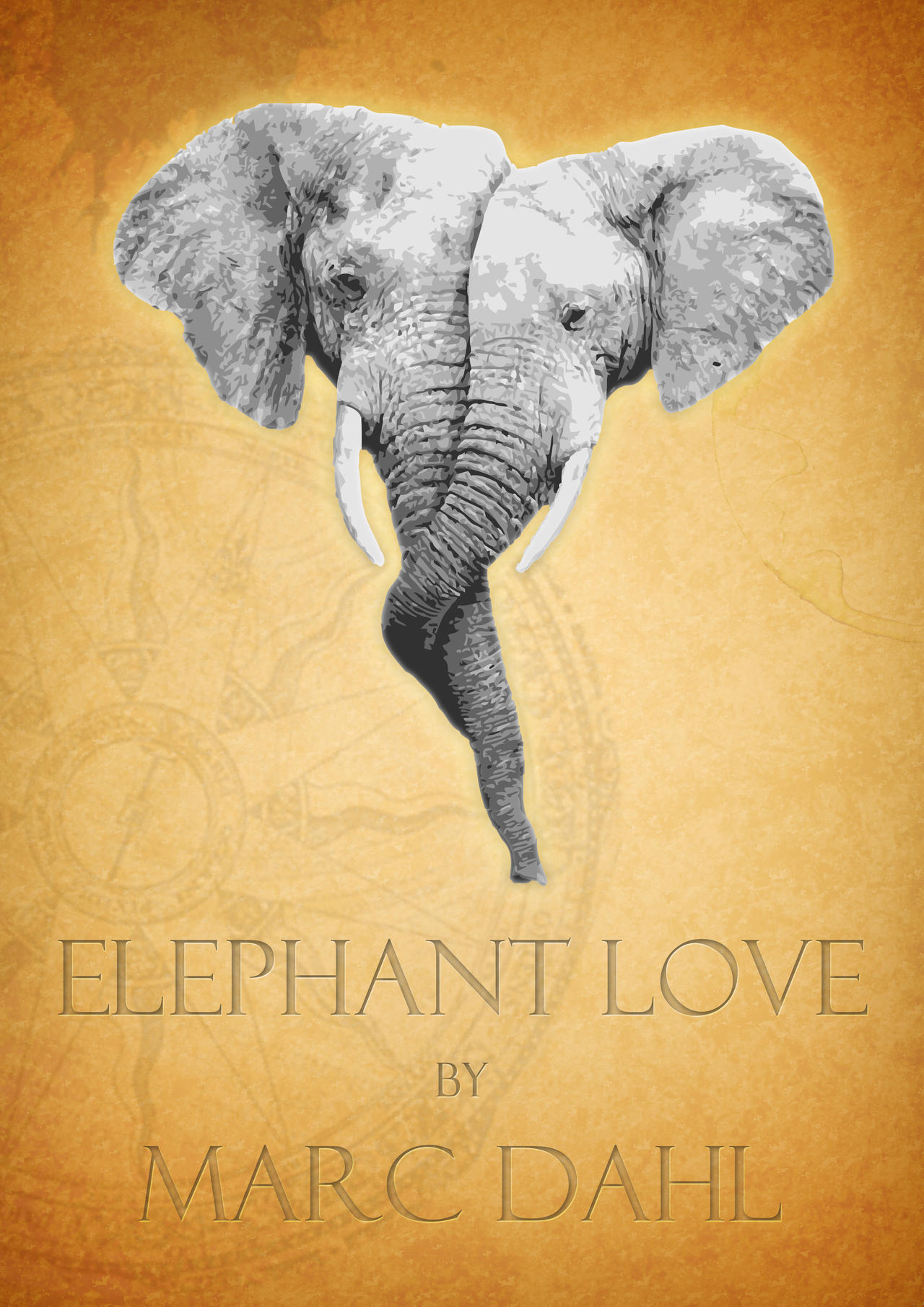 Elephant Love by yalik on DeviantArt - photo#32