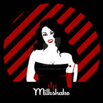 Milkshake - Minimalist Poster Inspired by 1950's