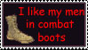 Combat Boots by MoonlitTraitor