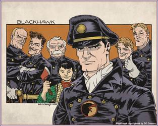 DC Comics' Blackhawk by Attn2DTale