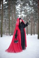 Red Riding Hood 2 - female stock by Dea-Vesta