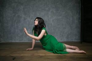 Green Sonata 11 - female stock by Dea-Vesta