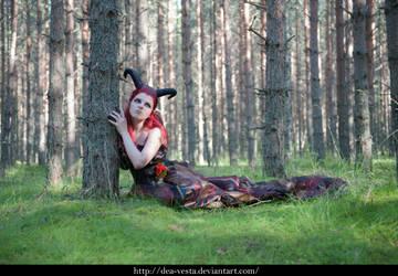 Forest demon 7 - female stock by Dea-Vesta