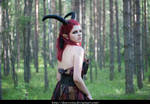 Forest demon 12 - female stock