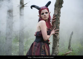 Forest demon 27 - female stock by Dea-Vesta