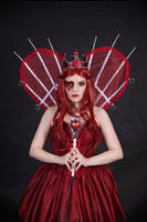 Red Queen 2 - female stock by Dea-Vesta