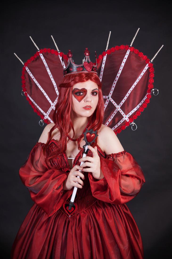 Red Queen 3 - female stock by Dea-Vesta