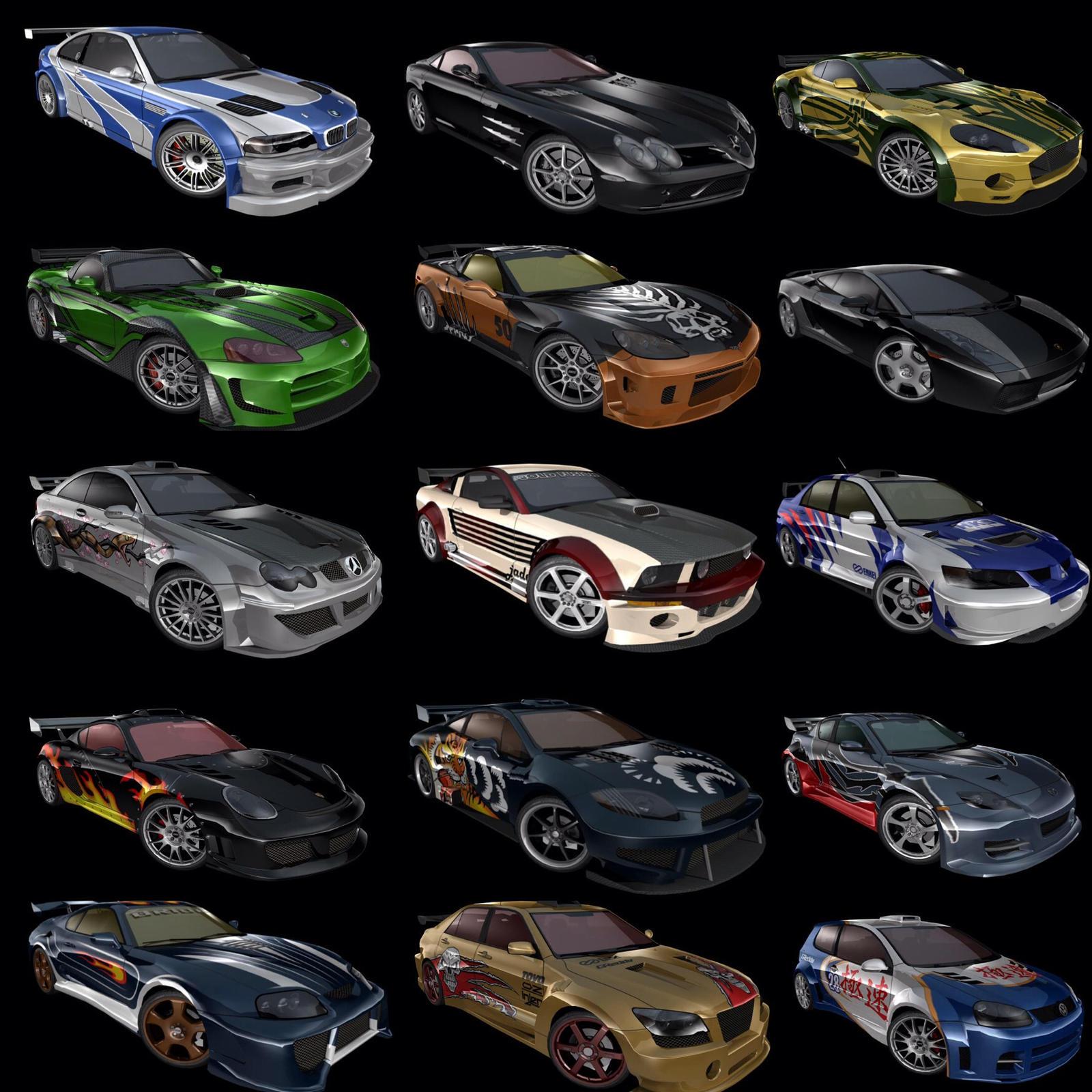 All Blacklist Cars