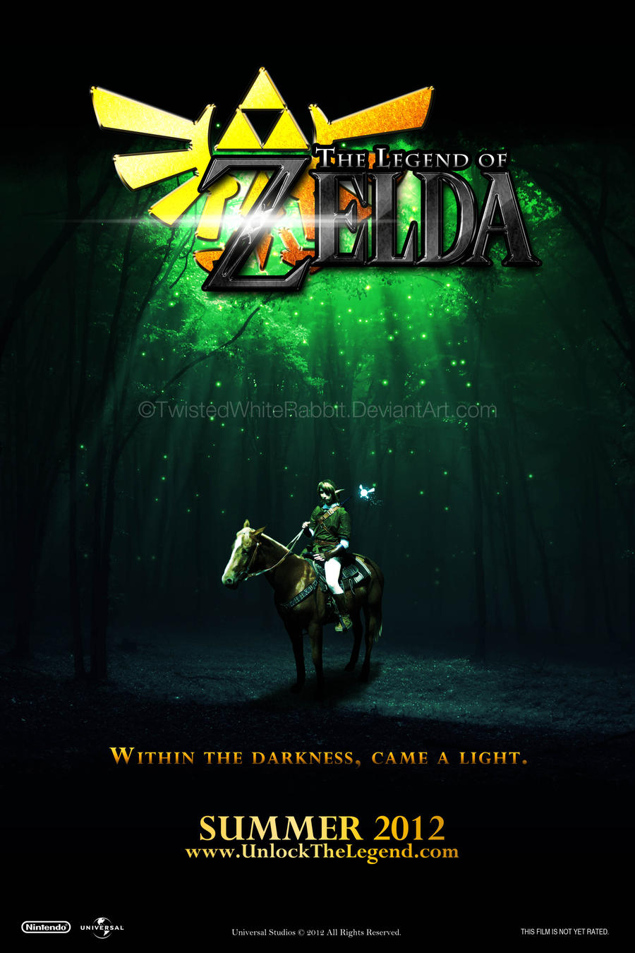 Legend of Zelda Movie Poster