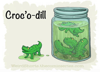 Croc'o-dill by BlueWingedCoyote