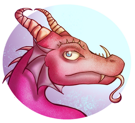 Pink reptile by nobodygoddammit