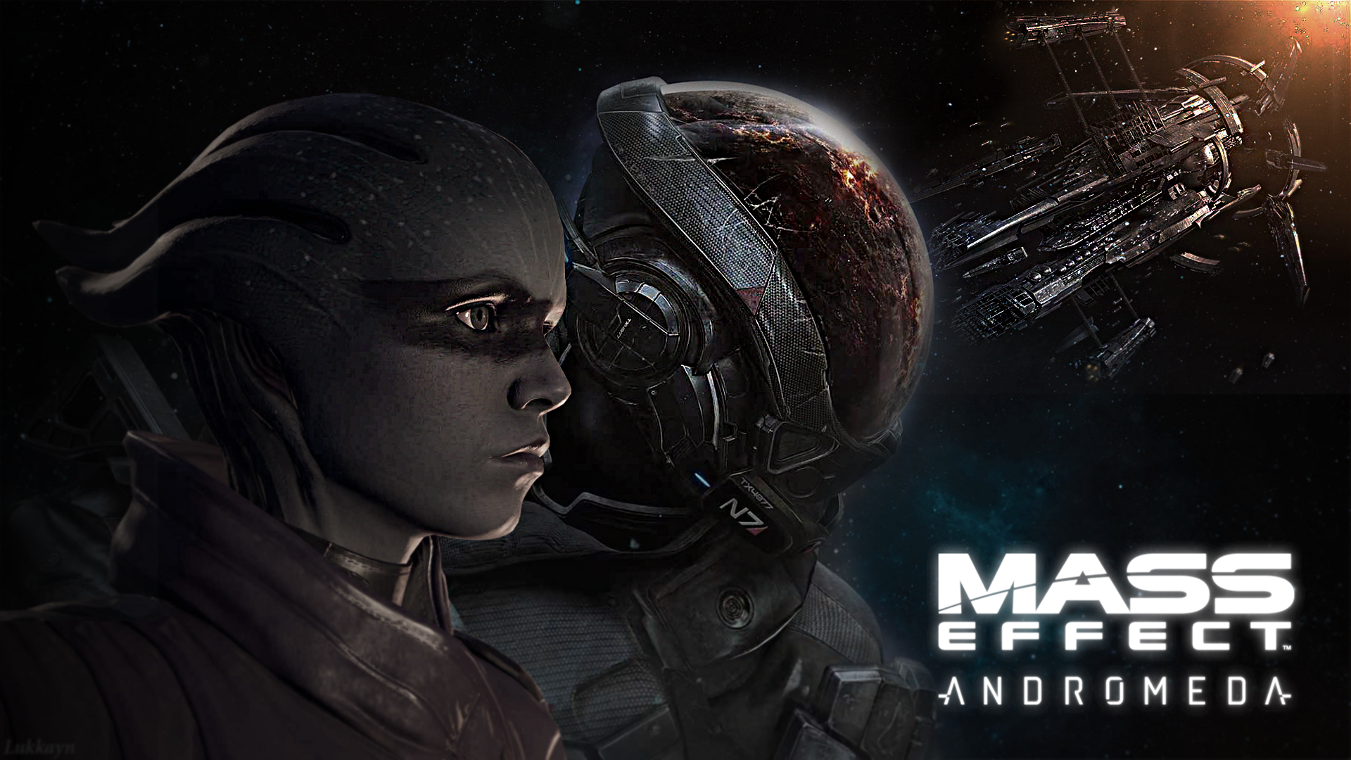 Mass Effect Andromeda Wallpaper: MEAndromeda By Lukkayn By Lukkayn On DeviantArt