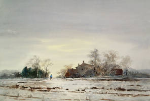 Frosty morning by angora39