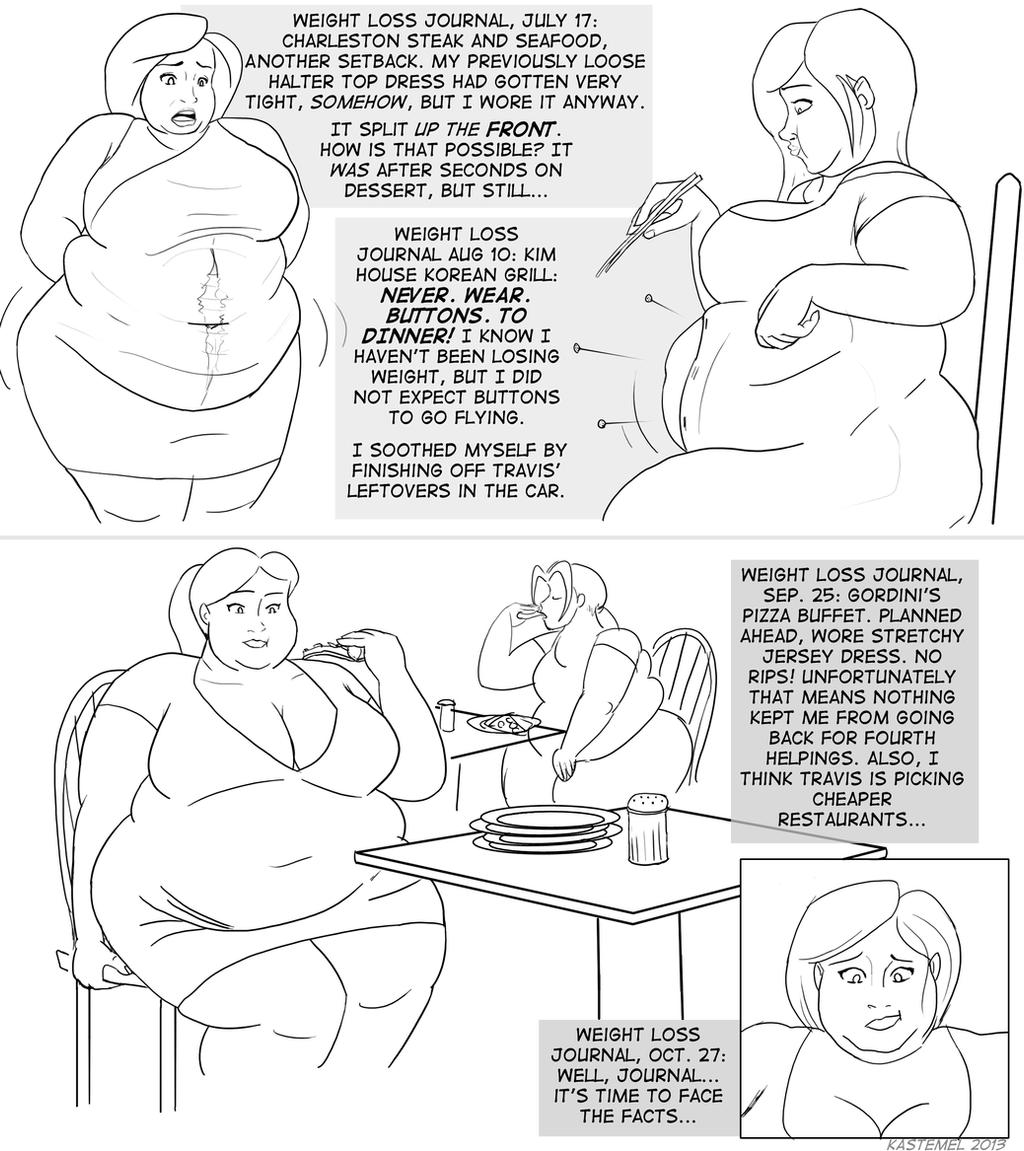 Female Weight Gain Deviantart