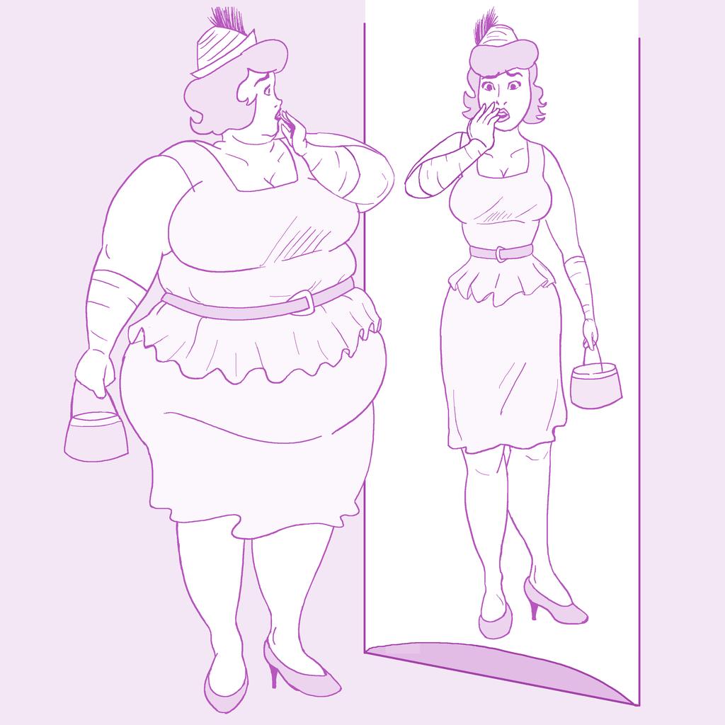 Fat Lois Lane Commission by kastemel
