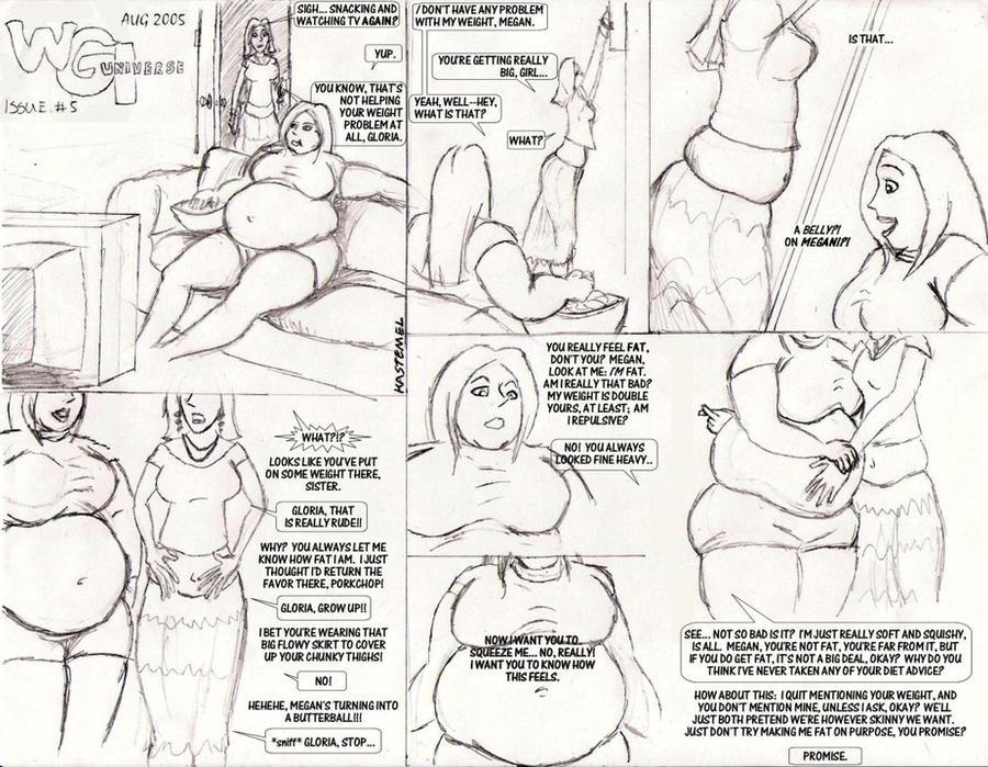 Girl Weight Gain Comic Deviantart 58567   NEWSMOV