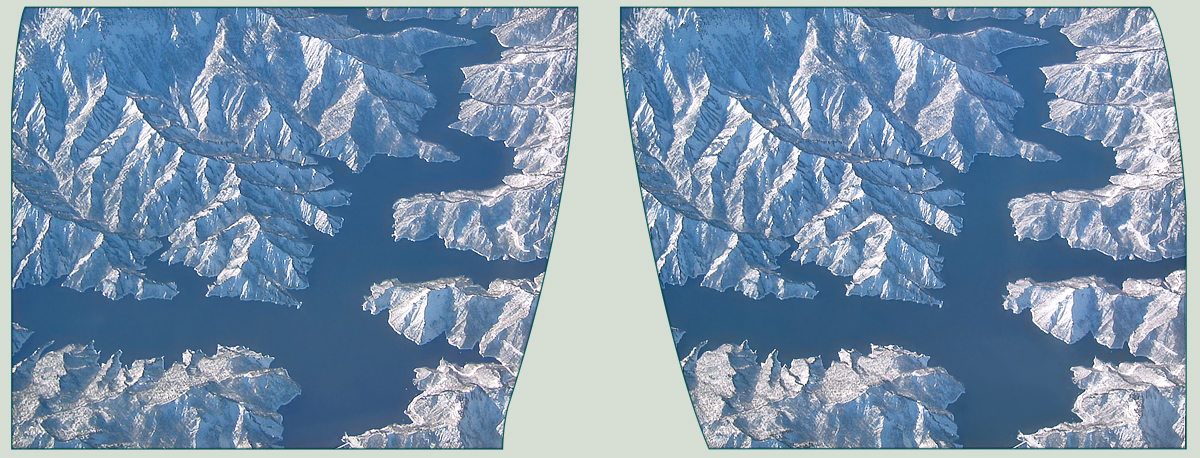 Japanese Alps in 3D by zour