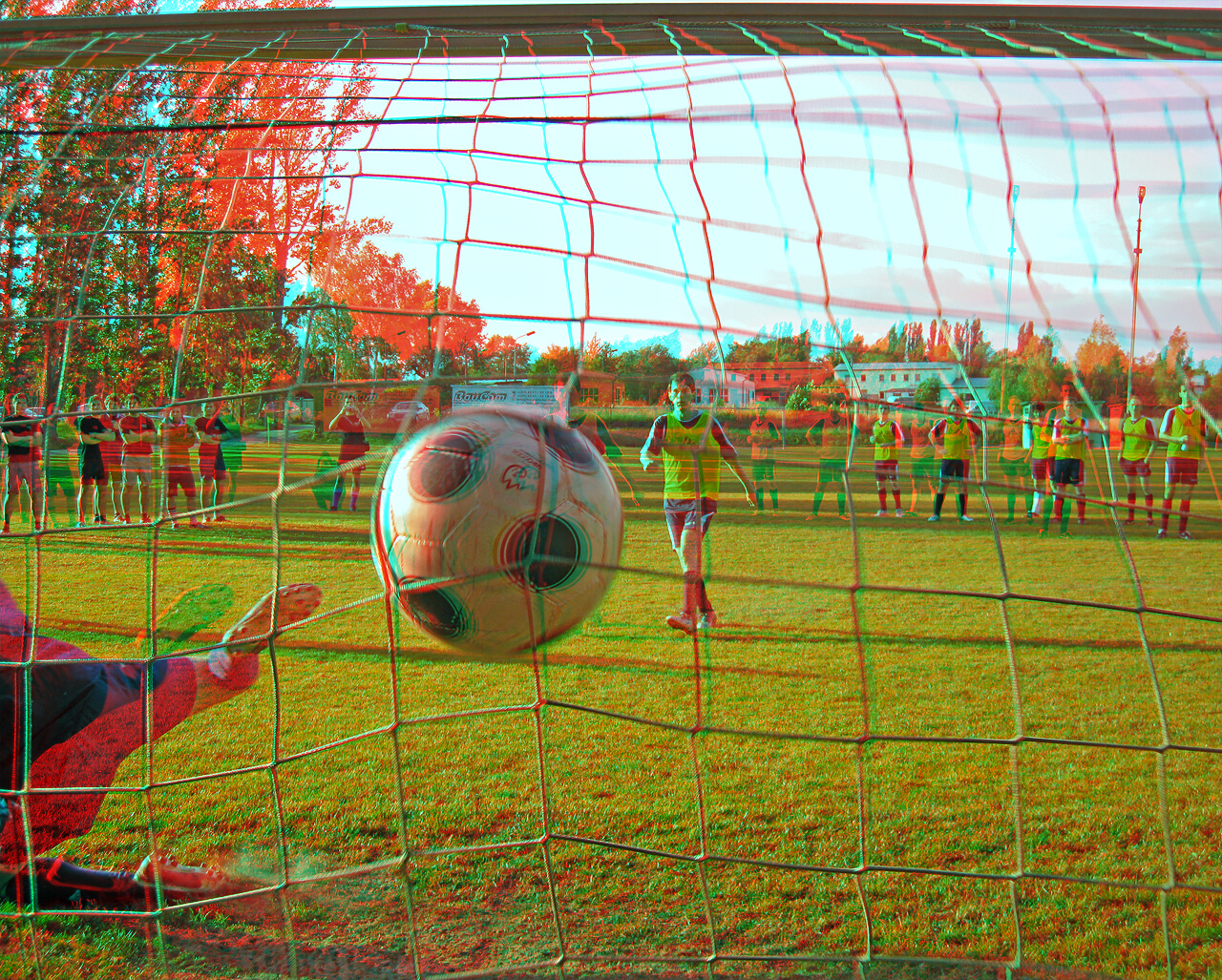 The Goal 3d Anaglyph By Zour On Deviantart