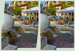 Another 3D Fountain HDR