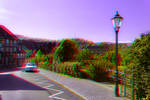 Wernigerode in the Harz mountains ::: Anaglyph 3D