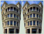 Goerlitz Architecture I ::: HDR Cross-Eye 3D