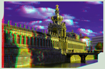 Zwinger of Dresden 3D ::: Anaglyph Stereoscopy
