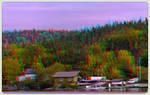 Wawa Lake 3-D ::: HDR/Raw Anaglyph Stereoscopy