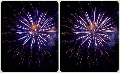 Bada Bing! Bada Boom! 3-D :: CrossView Stereoscopy by zour