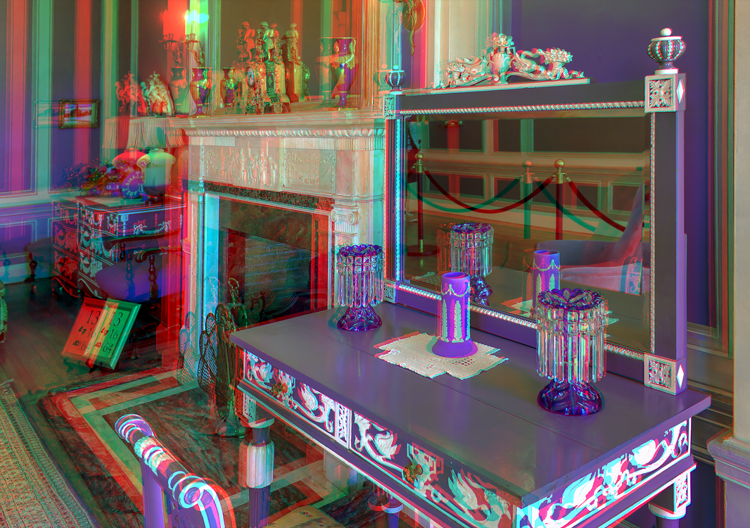 Inside casa loma 3 d hdr raw anaglyph stereo by zour for Stereo casa