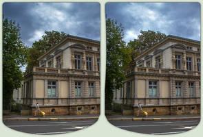The Belle Epoque 3-D / CrossEye / Stereoscopy by zour