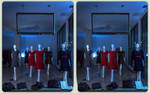 Display dummies 3-D / CrossView / Stereoscopy HDR