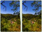 Treseburg im Harz 3-D / CrossView / Stereoscopy