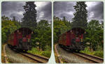 Departure 3-D / CrossEye / Stereoscopy / HDR / Raw