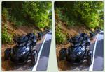 Trike 3-D / CrossEye / Stereoscopy / HDR / Raw