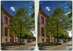 Halberstadt architecture 3-D / CrossView / Stereo