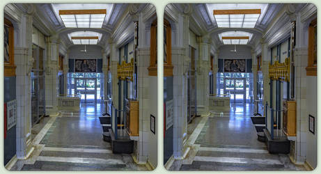 Whalen Building, T-Bay 3-D / CrossView Stereoscopy
