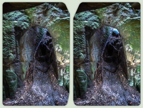 Altenburg doorway 3-D / CrossView / Stereoscopy
